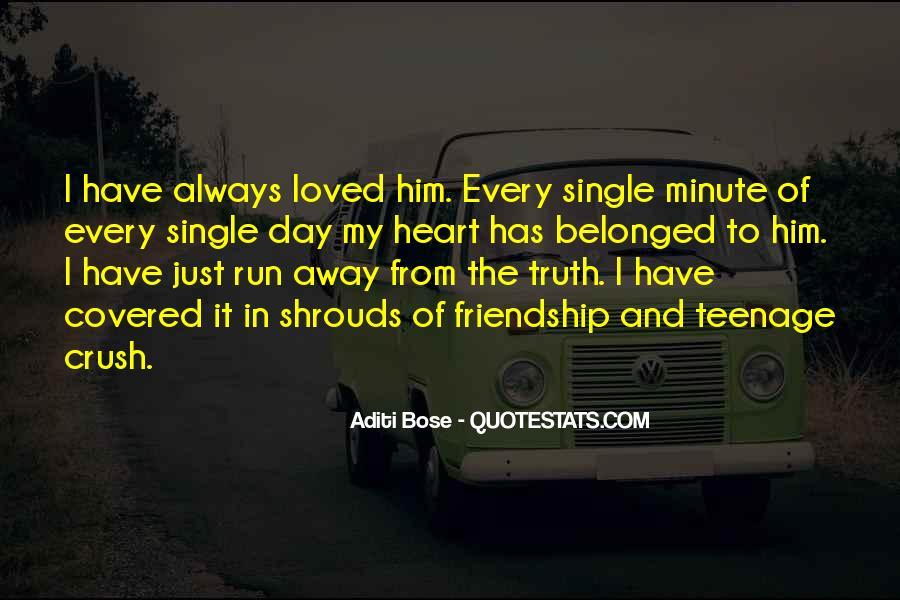 Run Away Love Quotes #748520