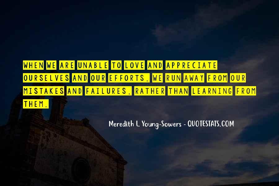 Run Away Love Quotes #851598