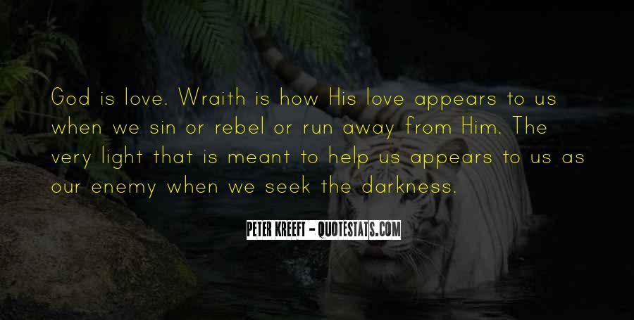 Run Away Love Quotes #884390