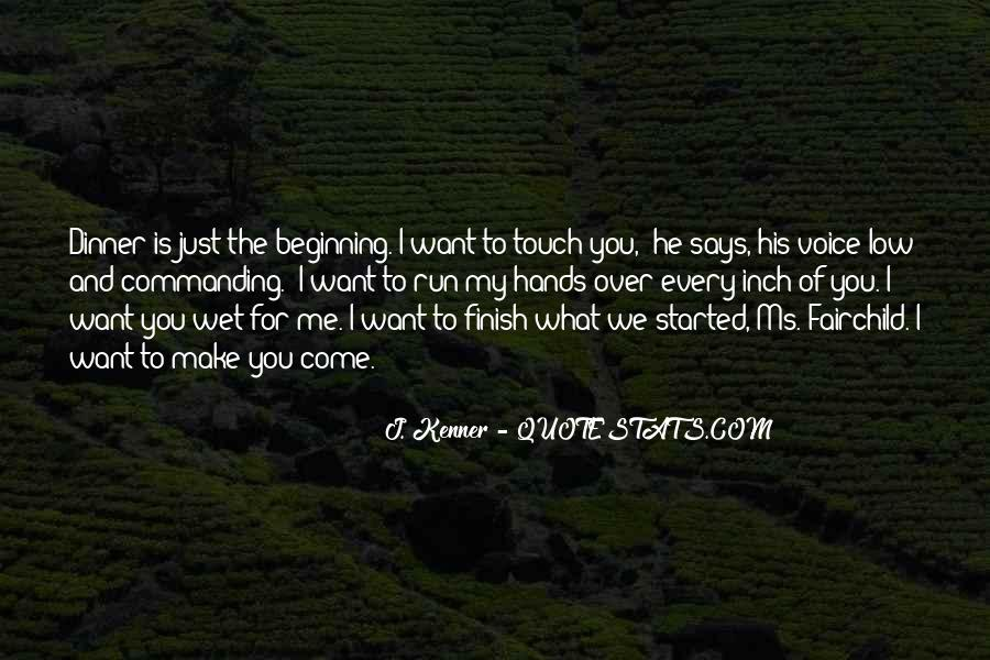 Run Over Me Quotes #1523441