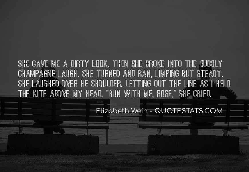 Run Over Me Quotes #1555713