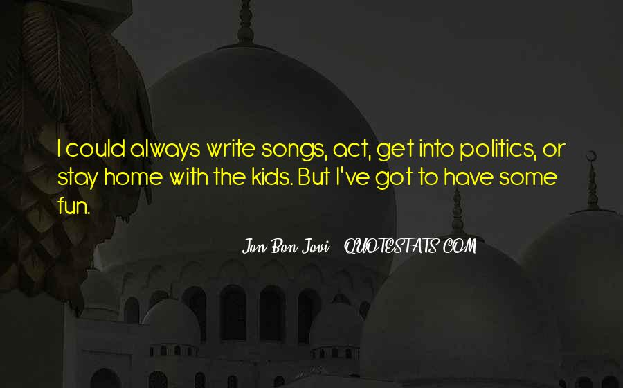 Quotes About Jon Bon Jovi #1148076