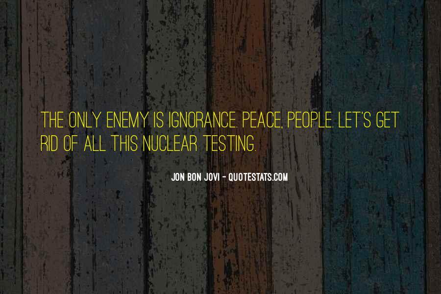 Quotes About Jon Bon Jovi #14272