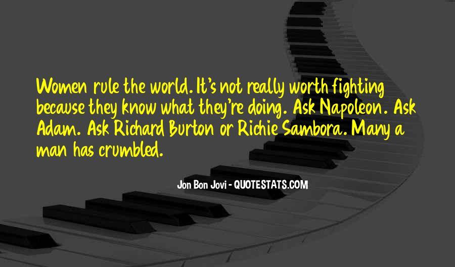Quotes About Jon Bon Jovi #1553782