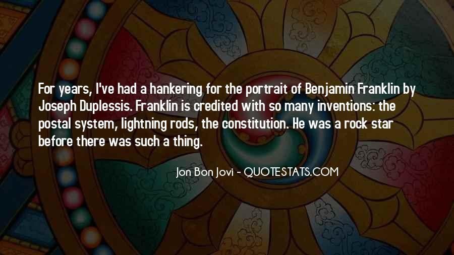 Quotes About Jon Bon Jovi #290487
