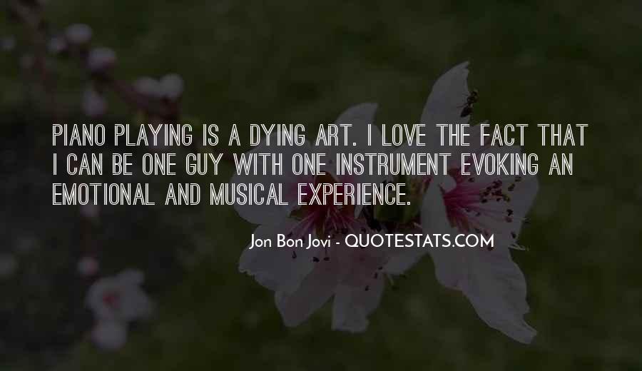 Quotes About Jon Bon Jovi #736677