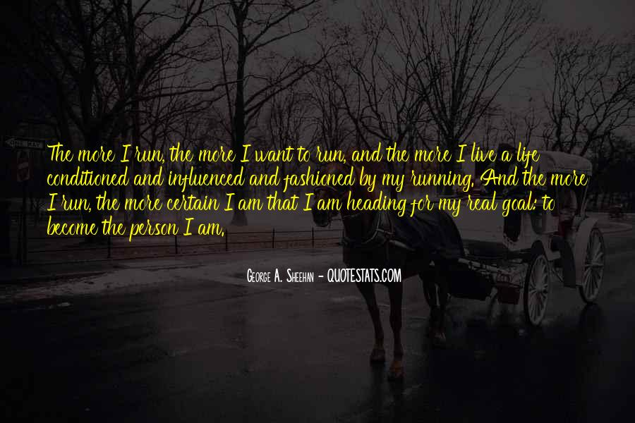 Running For My Life Quotes #1395757