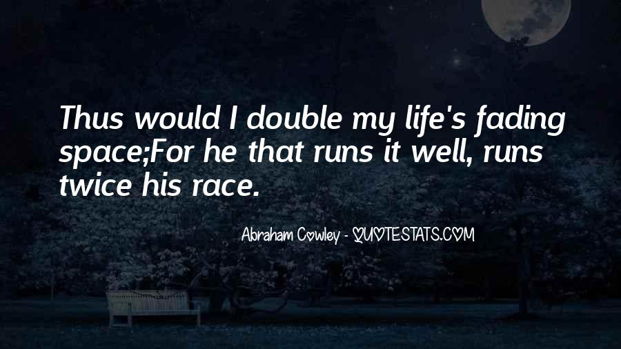 Running For My Life Quotes #1562996
