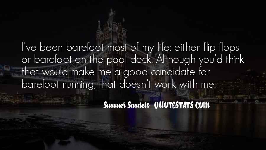 Running For My Life Quotes #475726