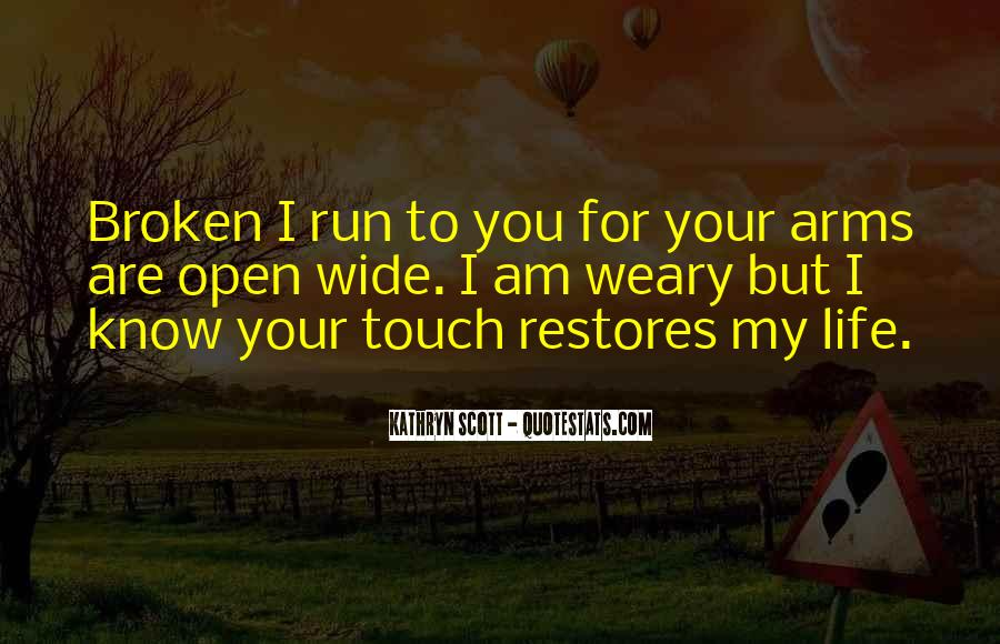 Running For My Life Quotes #590929