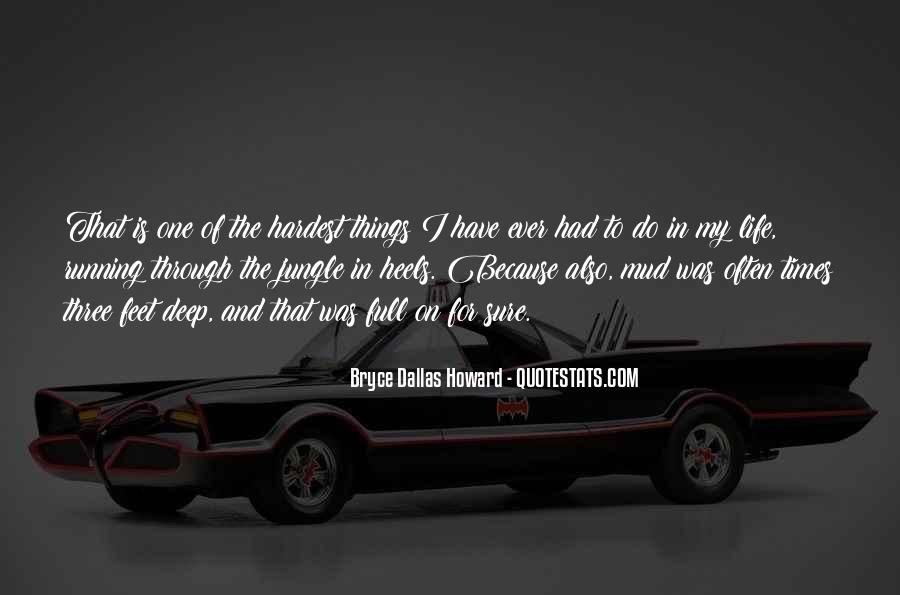 Running For My Life Quotes #636188