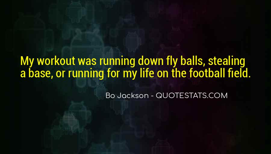 Running For My Life Quotes #772809