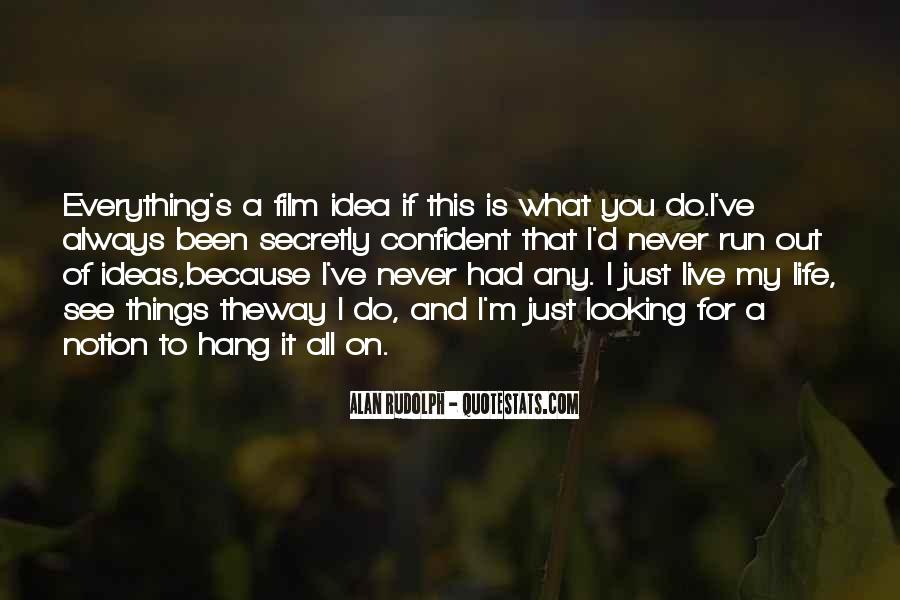 Running For My Life Quotes #920586