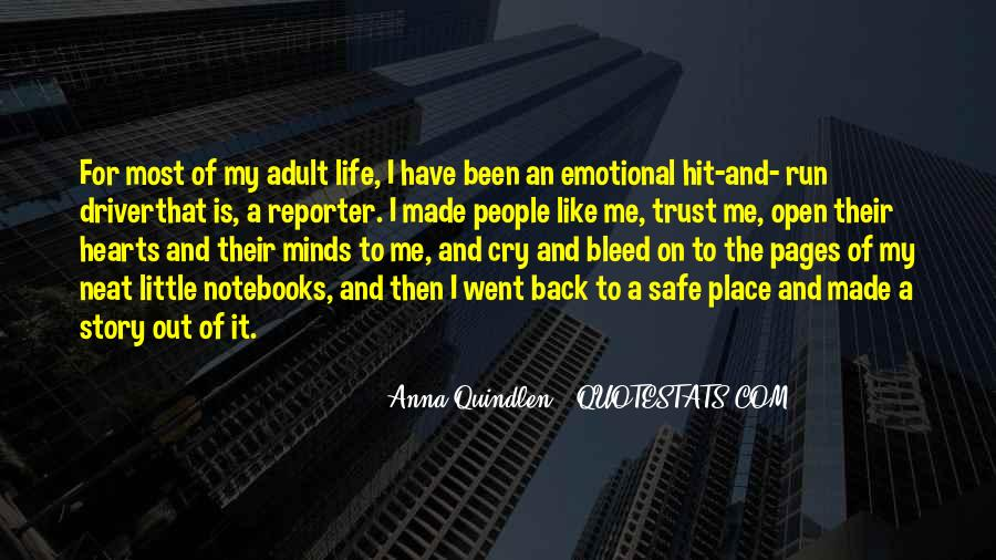 Running For My Life Quotes #999625
