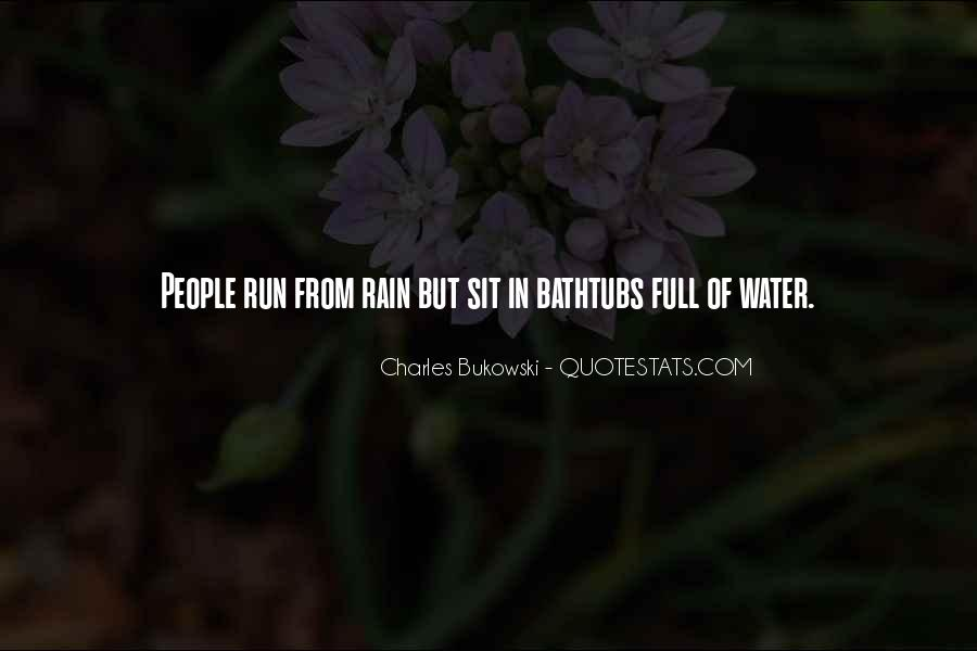Running Out Of Water Quotes #106785