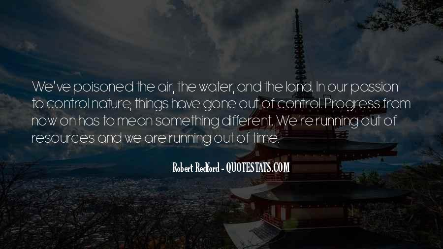 Running Out Of Water Quotes #142665