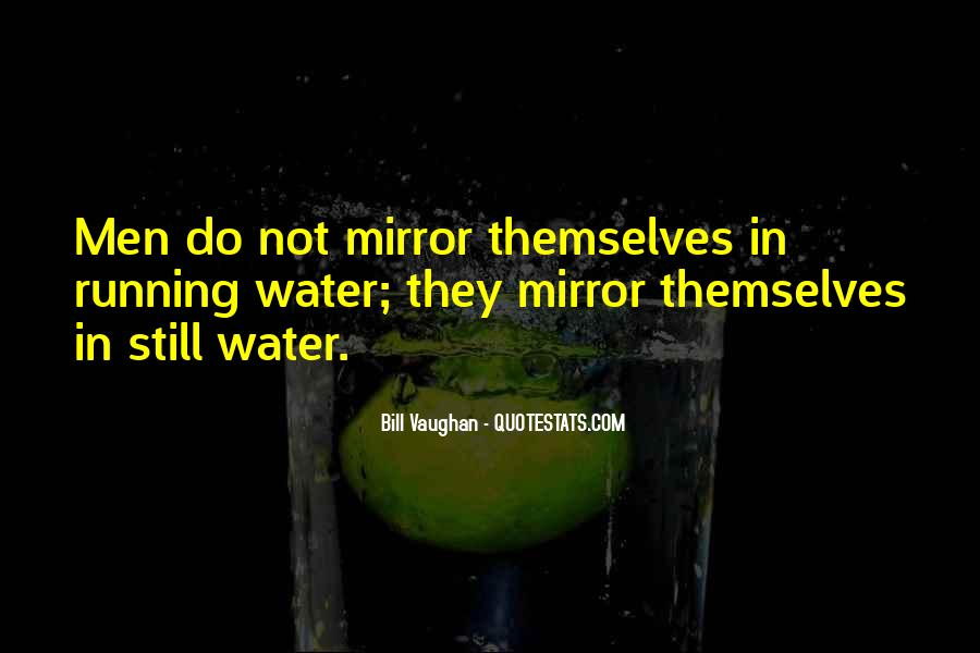 Running Out Of Water Quotes #147630