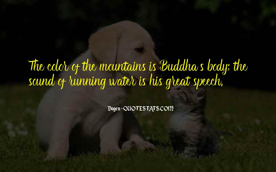 Running Out Of Water Quotes #150432
