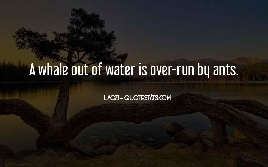Running Out Of Water Quotes #1547767