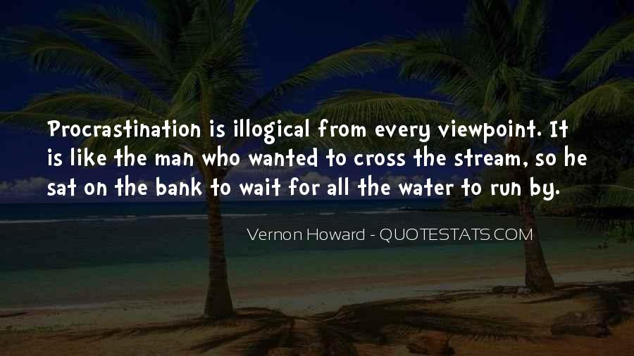 Running Out Of Water Quotes #15645