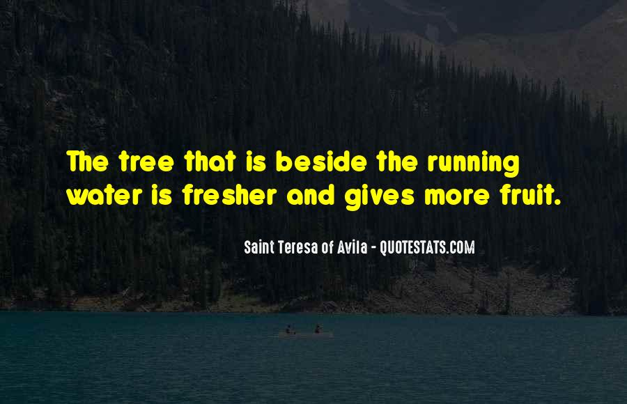 Running Out Of Water Quotes #262192