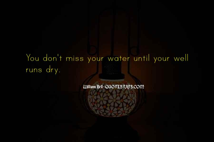 Running Out Of Water Quotes #275152