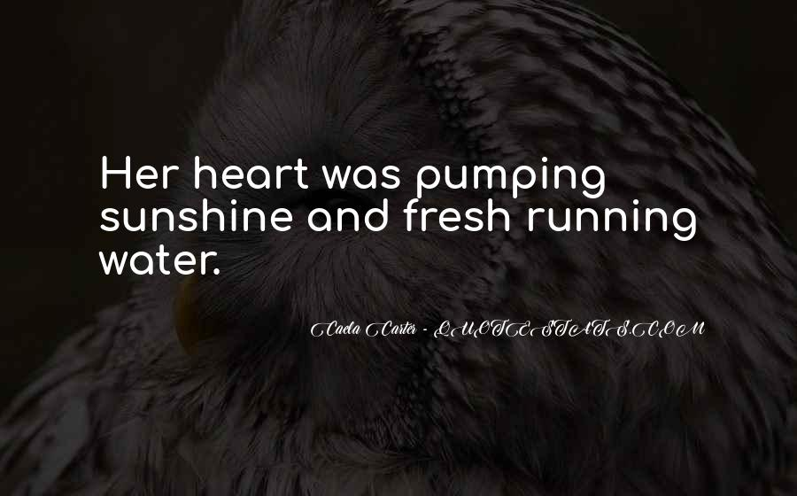 Running Out Of Water Quotes #32955