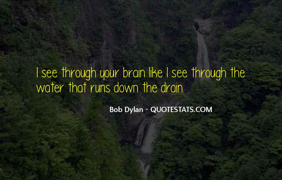 Running Out Of Water Quotes #33146