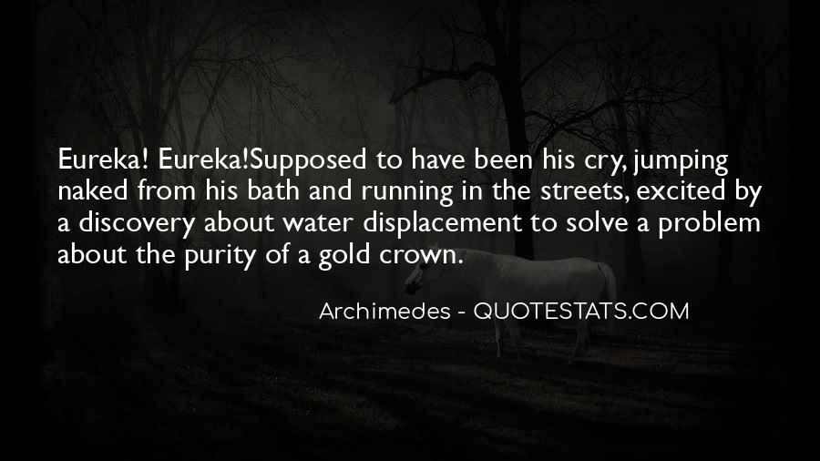 Running Out Of Water Quotes #382523