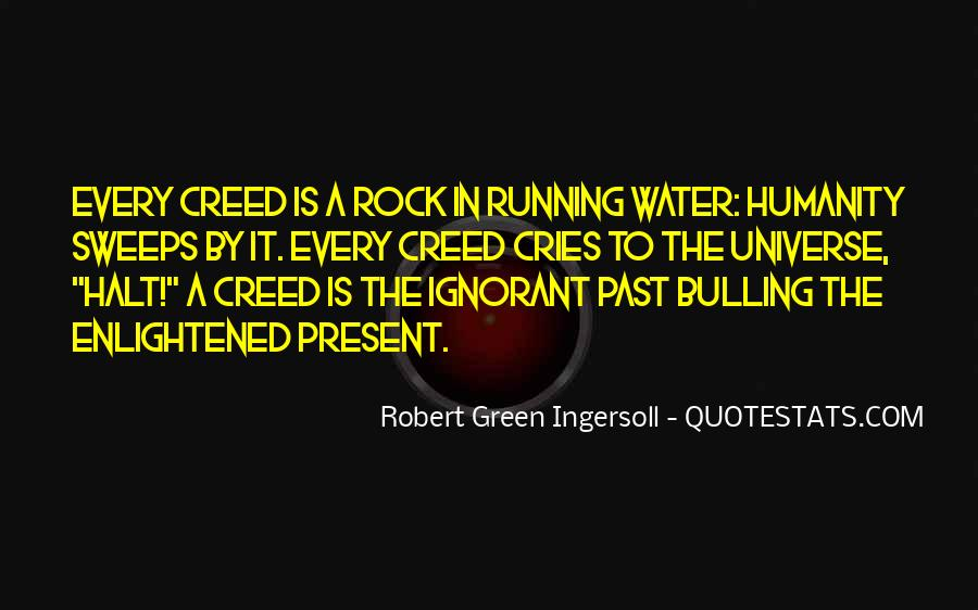 Running Out Of Water Quotes #408000