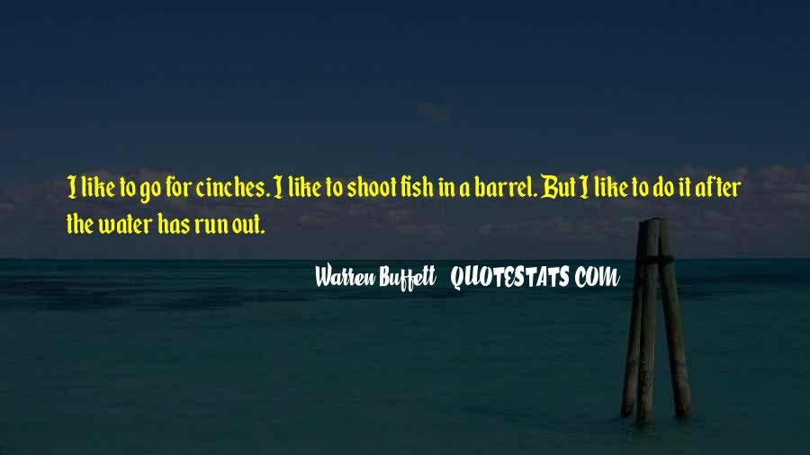 Running Out Of Water Quotes #436414