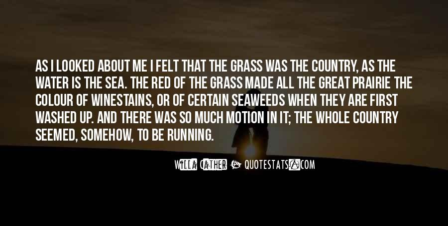 Running Out Of Water Quotes #441115