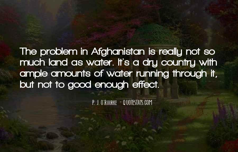 Running Out Of Water Quotes #497309