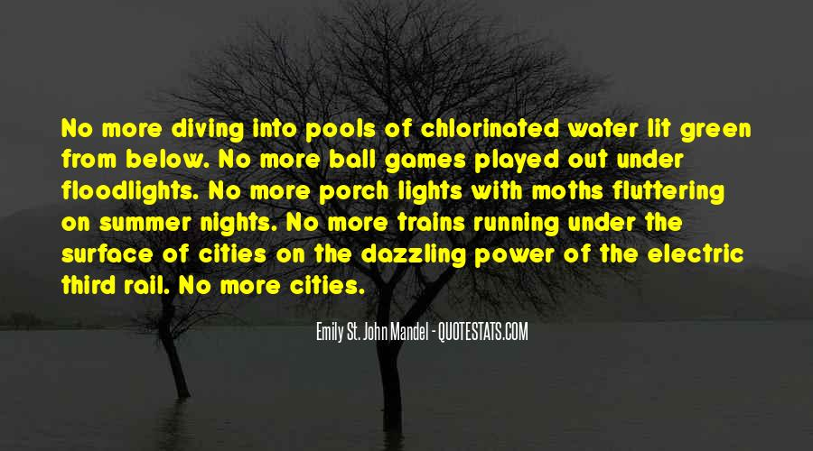 Running Out Of Water Quotes #70568
