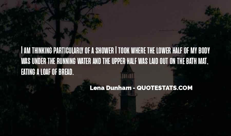 Running Out Of Water Quotes #730017
