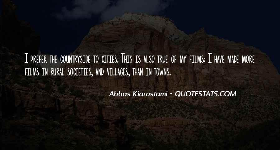 Rural Countryside Quotes #803603