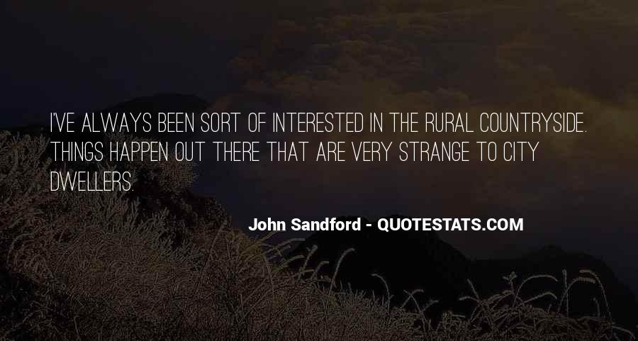 Rural Countryside Quotes #963713