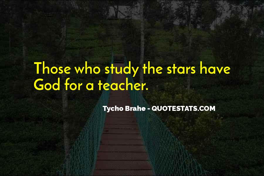 Quotes About Tycho Brahe #507378