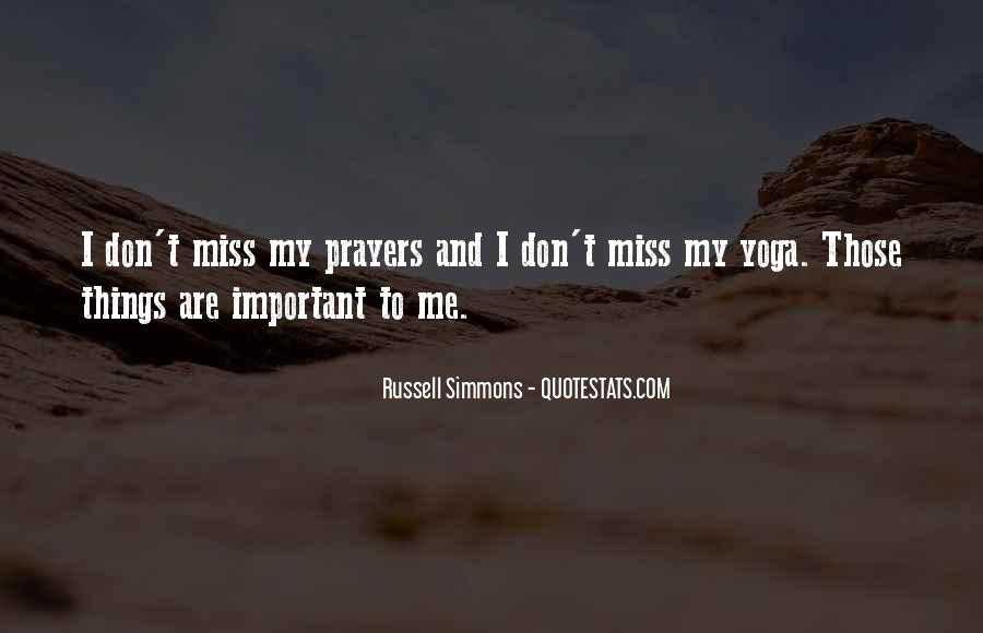 Russell Simmons Yoga Quotes #1350804