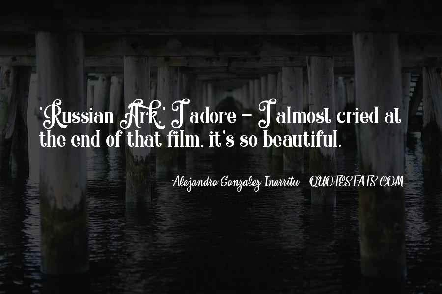 Russian Ark Quotes #512601