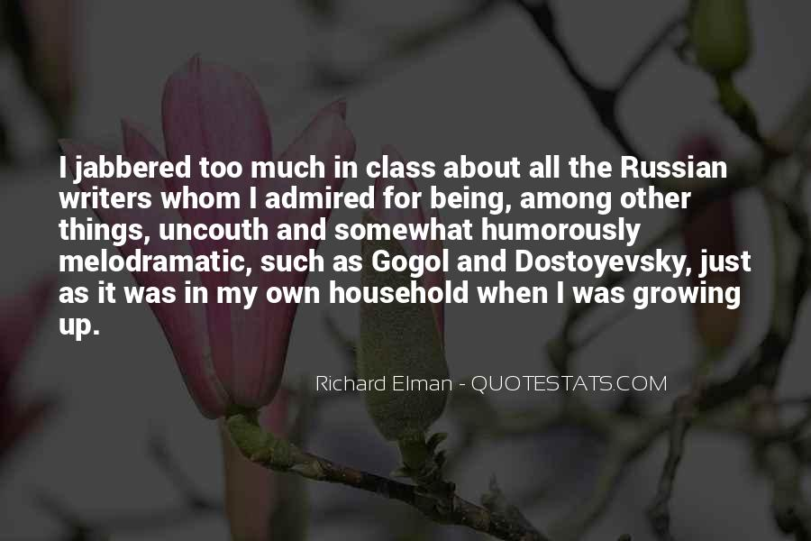 Russian Writers Quotes #1250603