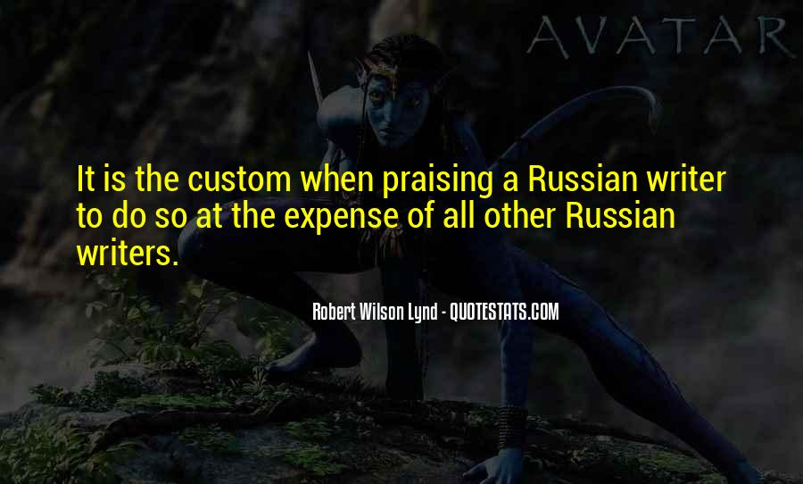 Russian Writers Quotes #1725708