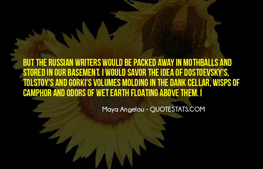 Russian Writers Quotes #1788290