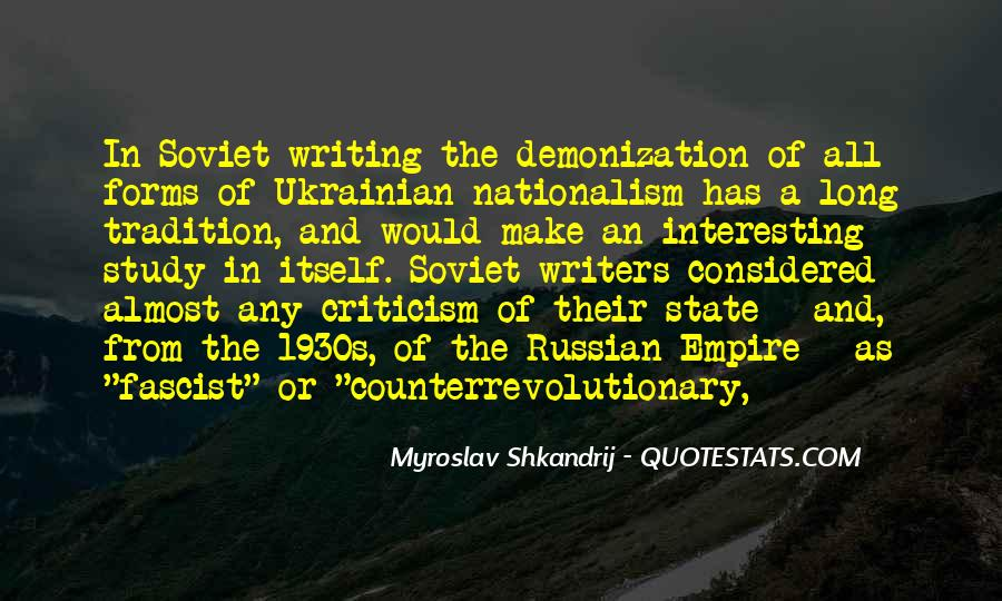 Russian Writers Quotes #333774