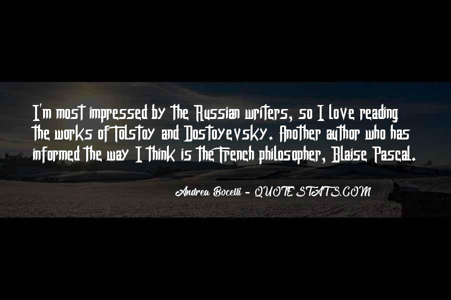 Russian Writers Quotes #540775