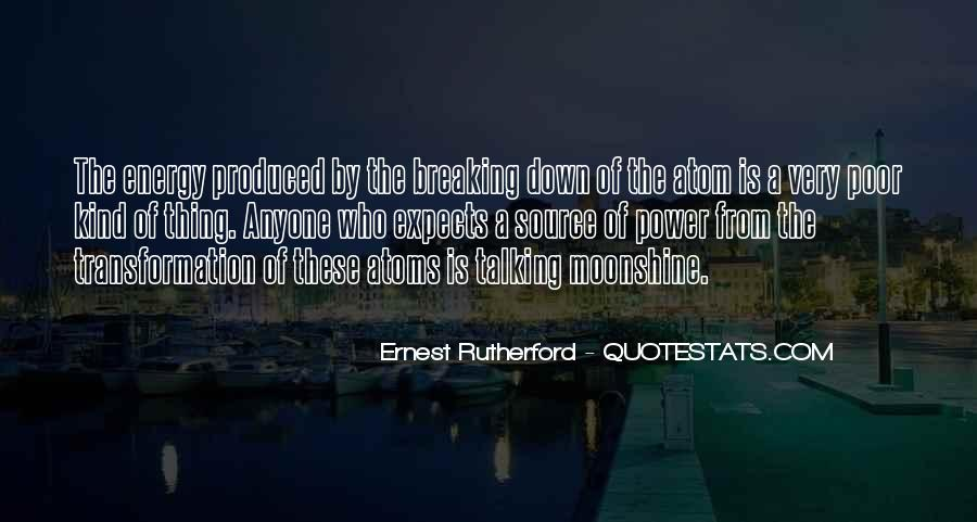 Rutherford Ernest Quotes #1764104