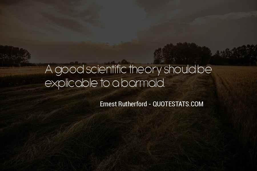 Rutherford Ernest Quotes #332398