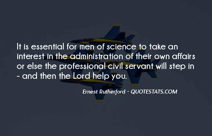Rutherford Ernest Quotes #754204