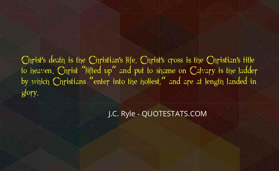 Ryle Holiness Quotes #166999
