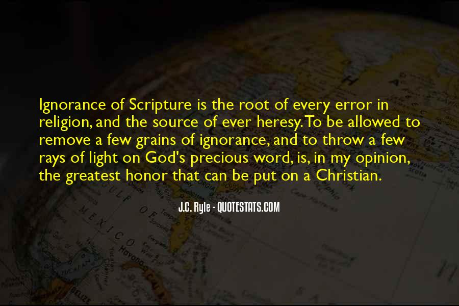 Ryle Holiness Quotes #179779